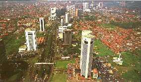 Jl. Sudirman in Jakarta