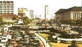 Jl. Thamrin in Jakarta